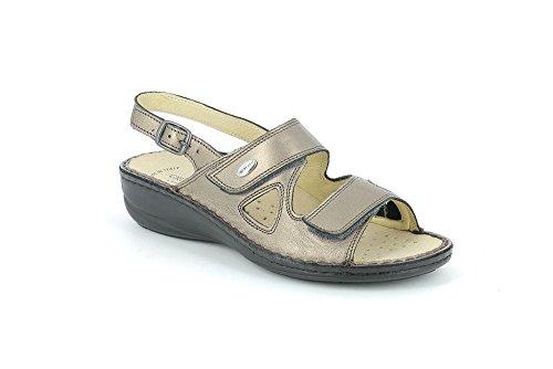 Ver Grunland Donna maisons Dara Zsy4nwf Piombo Sandalo Se0357 P ZwECx0qgT
