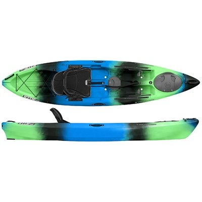 Wilderness Systems Ride 115 Kayak - Low Seat Galaxy Blue