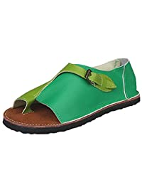 XILALU Women Comfy Platform Sandal Shoes Summer Beach Travel Shoes,pu Flat Sole Women Sandal