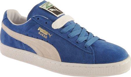 Puma Olympian Ginnastica Uomo Scarpe L Classic white Blue Da Wedge 7nUFq7HBf