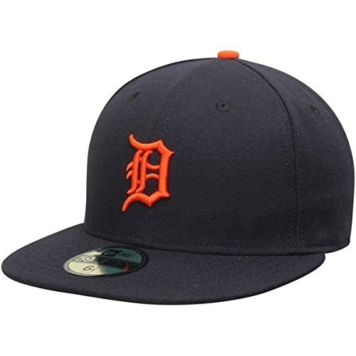 New Era Detroit Tigers MLB Authentic Collection 59FIFTY On Field Cap NewEra 59Fifty: 7 5/8