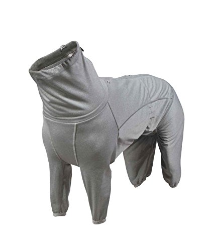 Hurtta Body Warmer Dog Body Suit, Recovery Suit, Carbon Grey, 24M by Hurtta