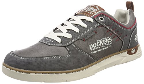 Dockers Par Des Hommes Gerli 42is001-600220 Gris Baskets (gris Fonc