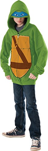Teenage Mutant Ninja Turtles Leonardo Hoodie Costume,