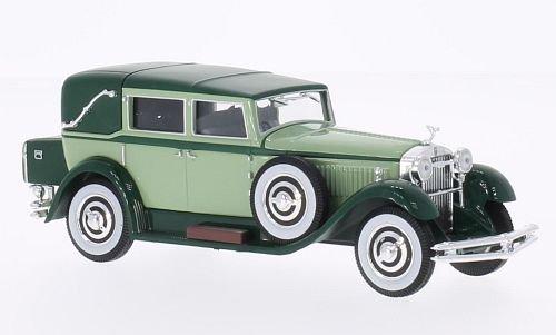 isotta-fraschini-tipo-8-light-green-dark-green-1930-model-car-ready-made-whitebox-143