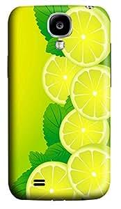 Samsung Galaxy S4 I9500 Hard Case - The Fresh Lemon Galaxy S4 Cases