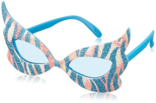 Beistle 60396 1-Pack Glittered Rock and Roll Diva - Childs Amy Sunglasses