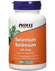 Now Selenium 100mcg Tablets, 250 Count