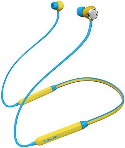 Perfectus Blue DIO TN - Auriculares inalámbricos Bluetooth con cancelación de Ruido Amarillo