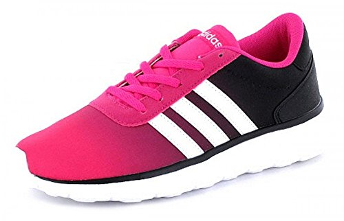 Adidas Lite Racer K, Baskets Unisexes - Enfants, Rose (rosimp / Ftwbla / Negbas), 36 Eu