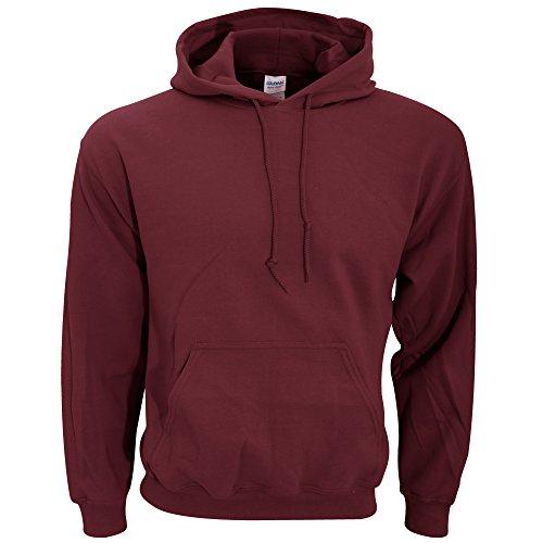 (Gildan Adult Heavy Blend Hooded Sweatshirt (Maroon))
