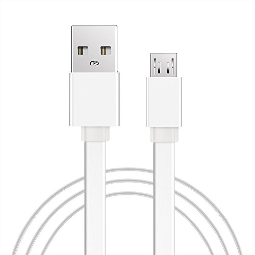 Android Micro USB Charging Cable,[10Ft]Extra Long Flat Charging Cord Wire,Super Durable Charging and Data Sync Cord for Samsung galaxy S6 S7 edge,PS4,Xbox,HTC,MOTO,Smartphones Nexus,Windows,MP3,Camera