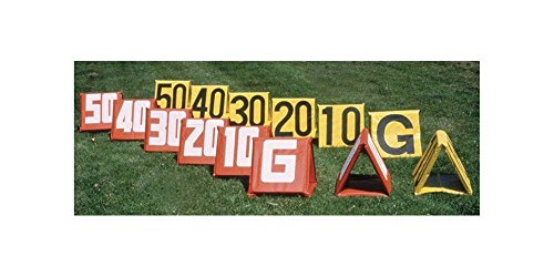 Stackhouse Football Deluxe Sideline Markers - Set of 11