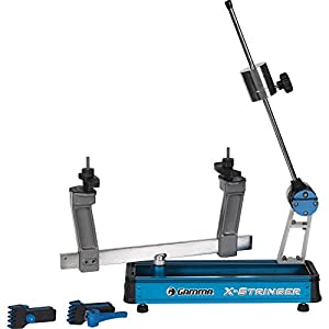 Gamma Racquet Stringing Machine: X Stringer Tennis String Machine with Stringing Tools and Accessories Tennis, Squash and Badminton Racket Stringer Tabletop Racket Restring Machines