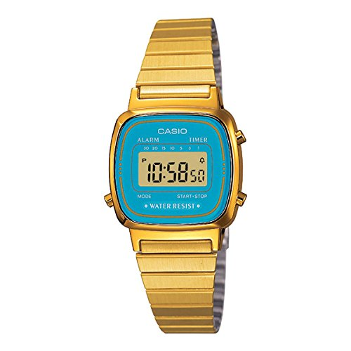 casio gold watch digital - 8