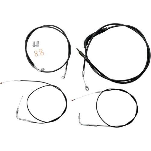 LA Choppers Black Cable/Brake Line Kit for 12'-14' Bars LA-8220KT-13B