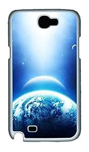 Samsung Note 2 Case Skyviews planet 2 PC Custom Samsung Note 2 Case Cover White