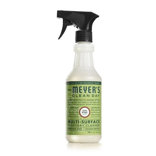 Mrs. Meyer's Multi Surface Spray Cleaner ‑ Iowa Pine ‑ 16 fl oz (Pack of 12) - Mrs Meyers Countertop Spray Lavender
