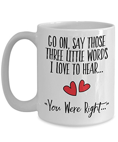 Fluent Sarcasm Mug - Hilarious Mugs For Men and Women - Funny Hearts Coffee Cup for Valentine's Day