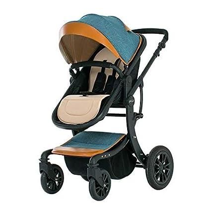 Cochecito de bebé Los sillones pueden sentarse planos y altos Paisajes plegables para niños Summer Light