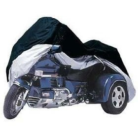 - Premium Trike Cover fits Honda Goldwing or Harley Davidson - One Size Fits All