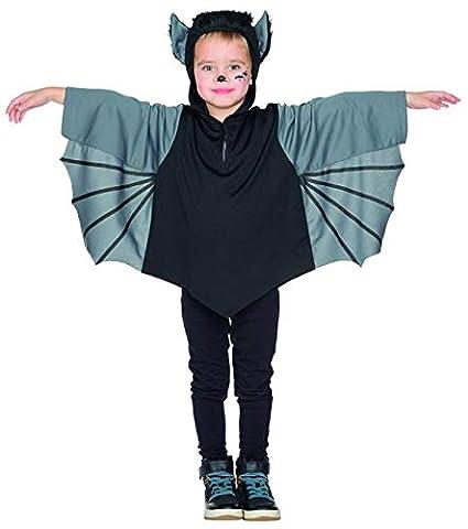 Rubies 12307 Fledermaus Kinder Kostum Karneval Halloween 92