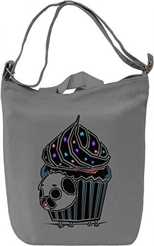 Puglie Cupcake Borsa Giornaliera Canvas Canvas Day Bag  100% Premium Cotton Canvas  DTG Printing 