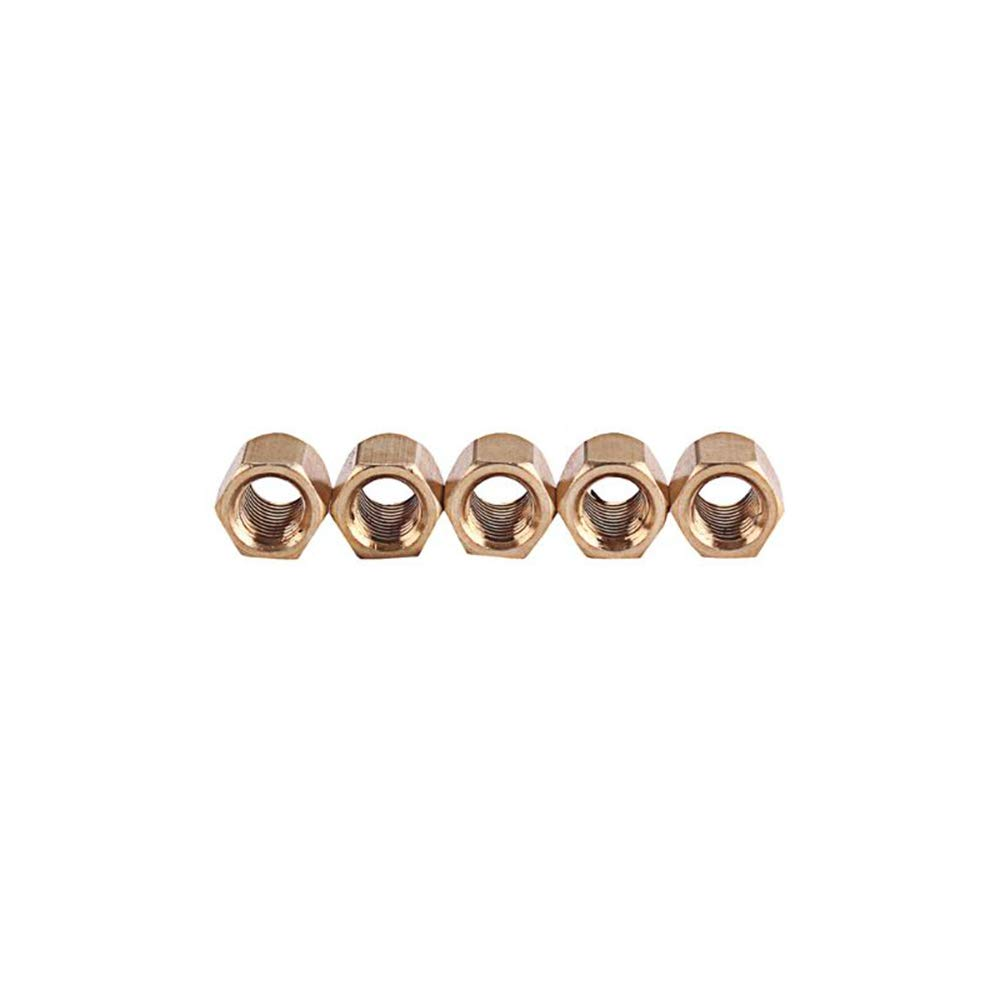 5pcs Guitar Truss Rod Nut Adjutment Lever Guitar Acceories Guitar Bass Adjusting Tool Musical Instrument Parts Gold Color