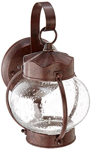 - Nuvo Lighting 60/631 One Light Fixture Outdoor Wall Mount Small Onion Lantern Old Bronze
