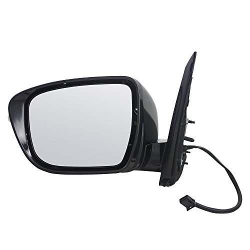 Drivers Power Side View Mirror w/Signal Replacement for Nissan Pathfinder WITHOUT Around View Monitor 96374-3JA0E