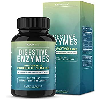 Amazon.com: DrFormulas Digestive Enzymes for Bloating Relief ...