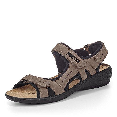 Legero - Sandalias de vestir de cuero nobuck para mujer Beige