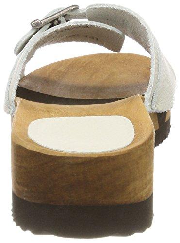 Sanita Randi Flex Sandal, Sabot Donna Bianco (Off-white)