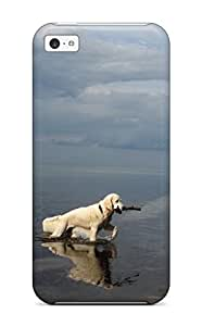 AnnDavidson Iphone 5c Hybrid Tpu Case Cover Silicon Bumper Dog