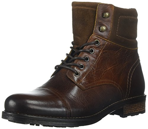 ALDO Men's Senehauz Ankle Bootie, Cognac, 12 D US
