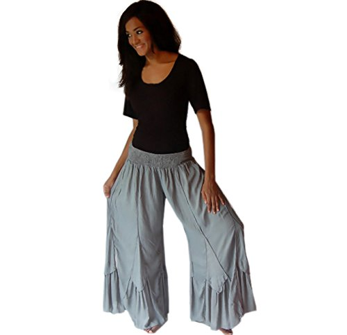 Lotustraders - Pantalón - para mujer gris