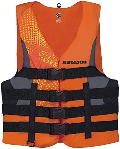 Sea-Doo Color Naranja Flotador de Nailon para Adultos
