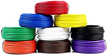 6 Rolls Audiopipe 50/' Feet 12 Gauge AWG Primary Remote Wire Auto Power Cable