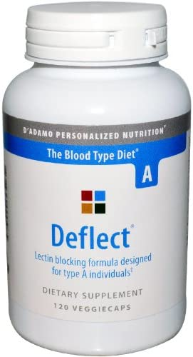 D Adamo Personalized Nutrition Deflect A, 120 Count