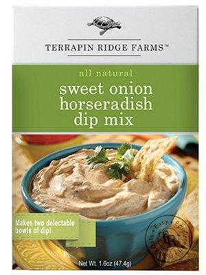 Terrapin Ridge Farms Sweet Onion Horseradish Dip Mix 1 OZ (Pack of 8)