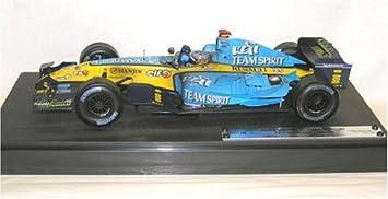 Hot Wheels Renault Formula 1 2005 Fernando Alonso - Coche de carreras en miniatura (escala