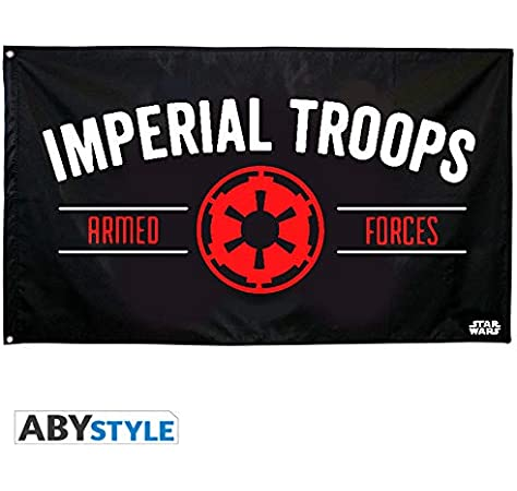 ABYstyle – Star Wars – Bandera Empire (70 x 120): Amazon.es: Juguetes y juegos