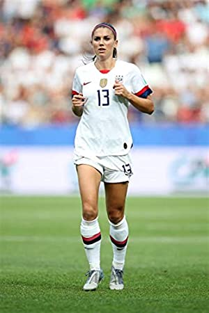 Alex Morgan Soccer Star Sport T-3317 Art Poster 24x36 27x40