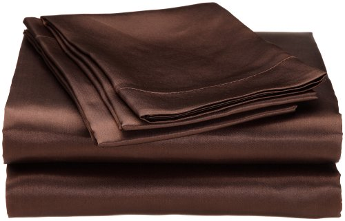 Divatex Home Fashions Royal Opulence Satin Twin Sheet Set, ()