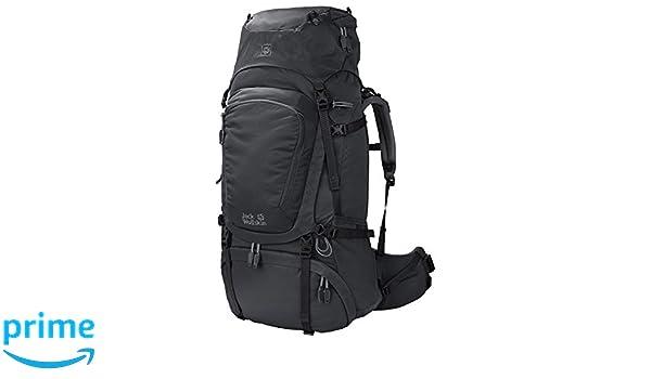 Amazon.com : Jack Wolfskin Denali 60l Womens Internal Frame Trekking Hiking Backpack Phantom : Sports & Outdoors