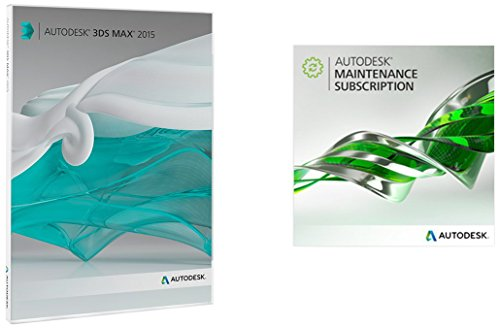 Autodesk 3ds Max 2015 with 1-Year Maintenance Subscription