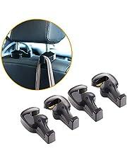 TOPLUS 4 Pack Car Headrest Hooks