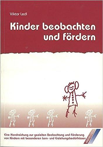 Kinder beobachten und fördern / Praxisorientierte Handreichung zur ...