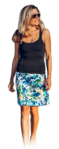 (RipSkirt Hawaii - Length 2 - Quick Wrap Cover-up That Multitasks as The Perfect Travel/Summer Skirt)