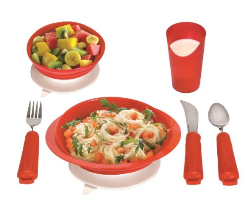 Essential Medical Supply Power of Red Complete Table Setting for Alzheimers and Dementia]()